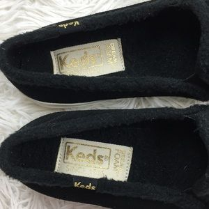 Keds Shoes - Keds Double Decker Suede/Shearling Slip on Sneaker